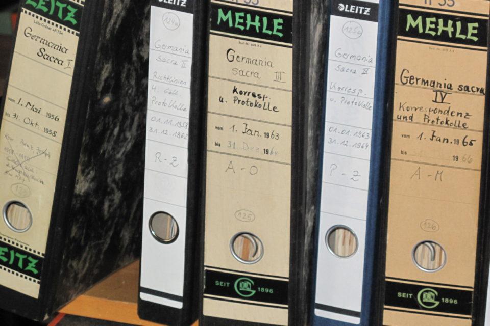 MPI Archiv - Germania Sacra